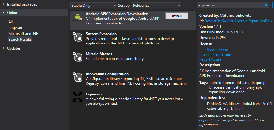 Xamarin.Forms - Alternative adding by NuGet Manager