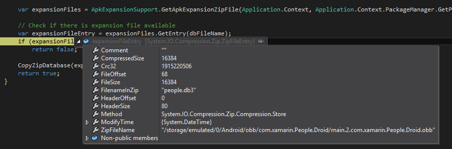 5 steps to using expansion files for Android in Xamarin Forms
