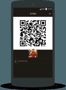 Coffee break - #Coffee QR Screen