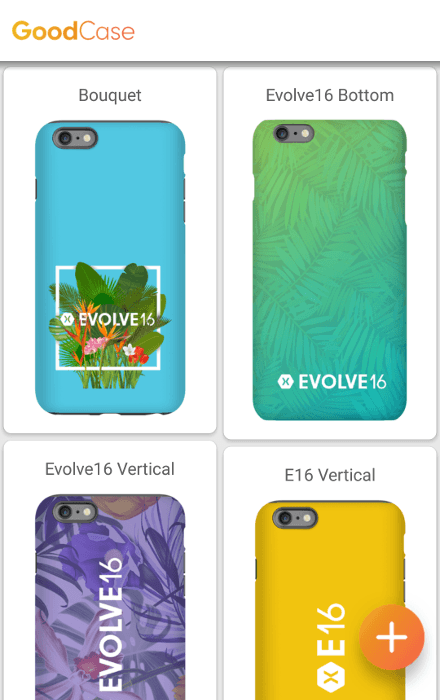 goodcase xamarin evolve - choosing case design