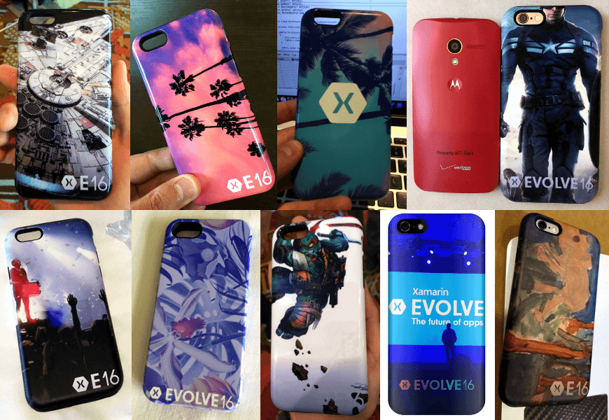 gooodcase xamarin evolve attendees cases