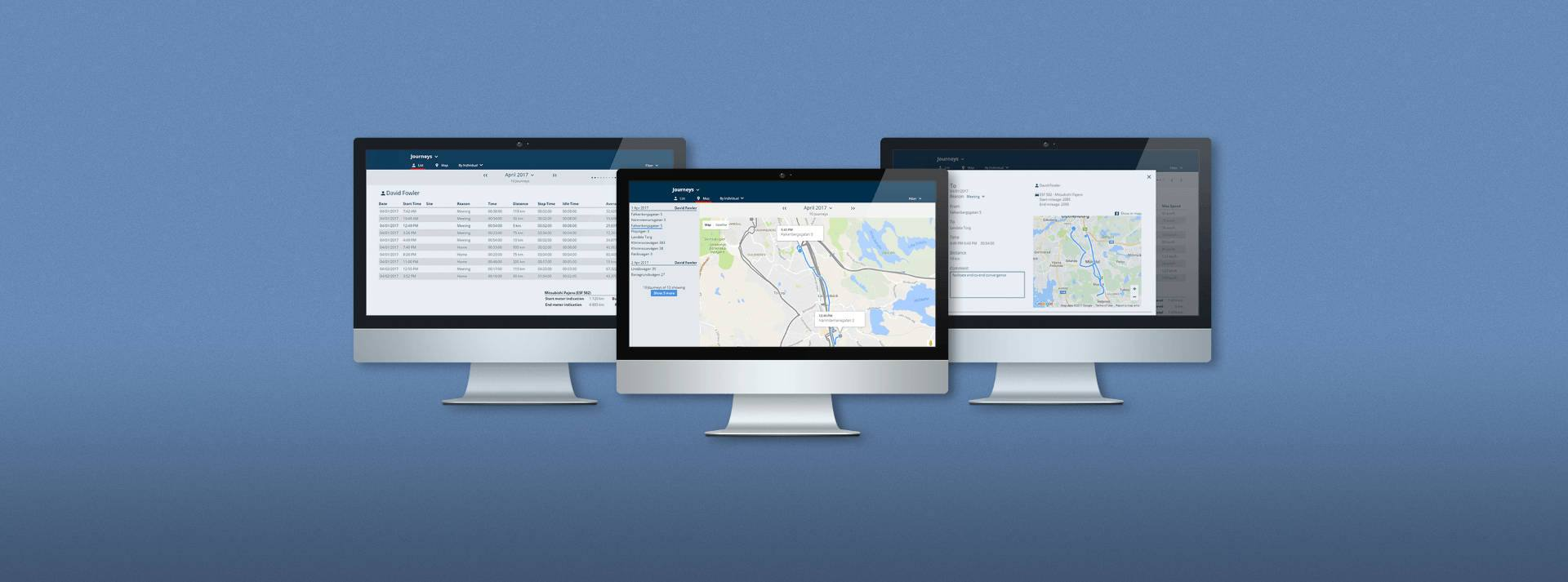 vehicle fleet web application