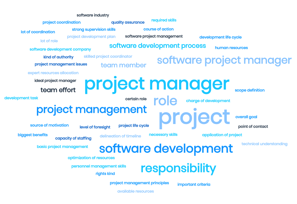 Roles and responsibilities of the project manager in software development 4