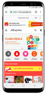 Aliexpress - progressive web apps