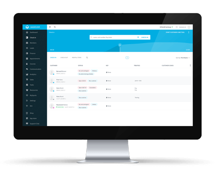 Gym management software – Magicline - Magicline-C-Top