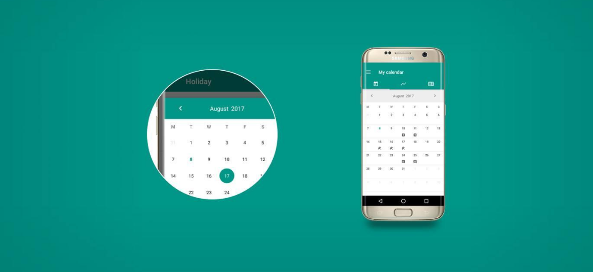MaterialCalendarView – customizable calendar widget for Android - MaterialCalendarView