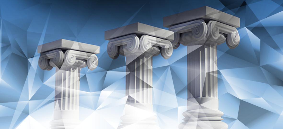 Three pillars that make your IT project move towards success - Three-pillars-of-Scrum_blog_banner-1